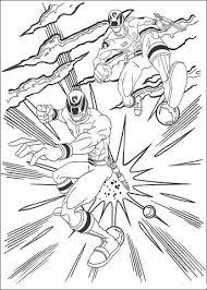 power rangers attack coloring free printable coloring pages