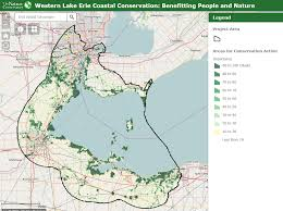 Upper Midwest Map Western Lake Erie Coastal Conservation