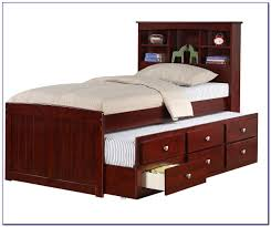 Twin Captains Bed With Drawers Twin Captains Bed With Storage Drawers Bedroom Home Decorating
