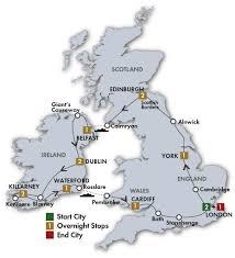 map uk ireland scotland vacationing in ireland tours of britain and ireland