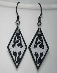 skyrim earrings skyrim dragonborn earrings want okay these are not skyrim