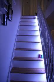led light design amusing led stairwell lighting stair lighting