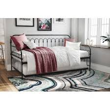 Black Daybed With Trundle Black Daybeds You Ll Wayfair