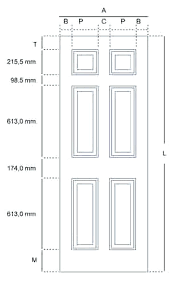 Closet Door Measurements Closet Door Sizes Average Interior Door Height Image Collections