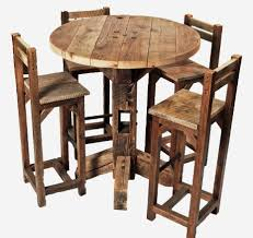 rustic pub table and chairs rustic pub table set table designs