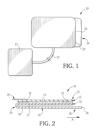 patent us20030040788 skin applied electrode pads google patents