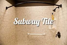 Bathroom Tile Wall Subway Tile Bathroom Walls Liberty Home Solutions Llc