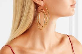 gold hoop earings these ellery hoop earrings made me like gold hoops