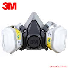 Masker Gas 3m 6200 6002 gas mask respirator cartridges acid gas mask hydrogen
