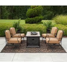 Members Mark Patio Furniture by Sams Club Patio Set With Fire Pit Patio Outdoor Decoration