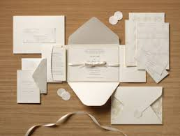 where to get wedding invitations discount wedding invitations soft brown design envelope and card
