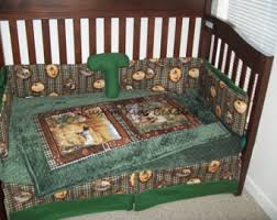 Outdoor Themed Baby Room - duck baby quilt hunting theme crib bedding hunter nursery
