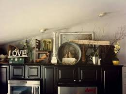 top of kitchen cabinet decor ideas decorating the top of kitchen cabinets beautiful idea home ideas