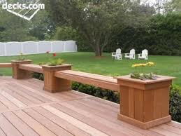 how to build deck bench seating decks with planter box bench planter boxes with bench seating