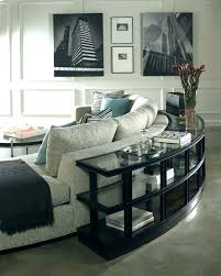 console table behind sofa against wall console table behind reclining sofa www resnooze com