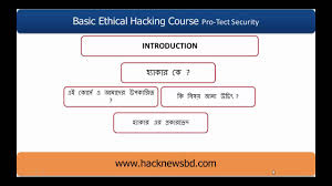 basic ethical hacking course in introduction youtube