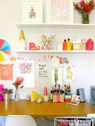 bureau coloré bureau coloré et scintillant de paperfashion