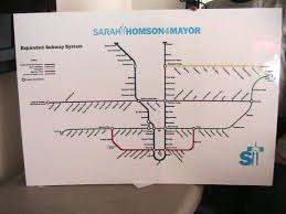 Toronto Subway Map Toronto Subway Map Vs Other Cities Image Gallery Hcpr