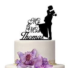 personalized cake topper customize name wedding cake topper personalized cake decoration