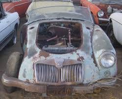 for restoration for sale 1955 59 mga roadster suitable for restoration for sale on car and