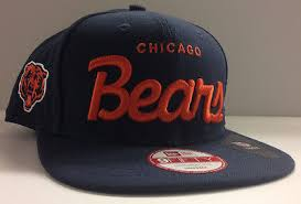 chicago bears new era 9fifty snapback cap hat vacation