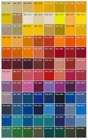 ral colour chart jpg 650 1028 color chart pinterest colour