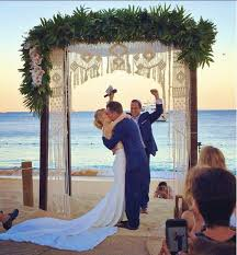chuppah dimensions custom made macrame wedding arch dimensions 6 ft wide x 7 ft