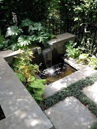 seattle water features for landscape contemporary with rock