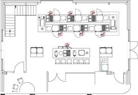 interesting restaurant kitchen blueprint in inspiration decorating