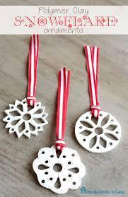 remodelando la casa polymer clay snowflake ornament