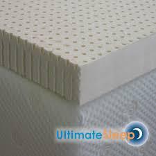ultimat sleep latex foam mattress pads