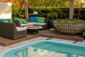 outdoor backyard landscaping ideas with fire pit build a