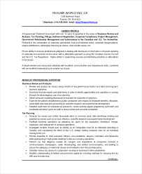 Individual Resume Chartered Accountant Resume Template 5 Free Word Pdf Documents