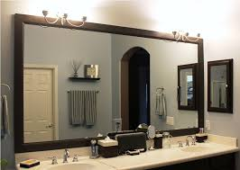 incredible bathroom mirror frame ideas framing a bathroom mirror