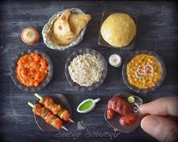 cuisine miniature indian food miniature punjabi cuisine food miniatures