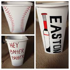 baseball laundry hamper made out of trash can container diy i baseball laundry hamper made out of trash can container i just love making these things for my little mans room rno
