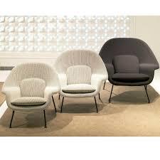eero saarinen medium womb chair knoll modern furniture