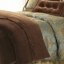 our copper colored velvet duvet cover is from the bianca bedding