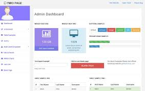 80 best free bootstrap admin templates 2017 for web applications