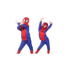 Spiderman Halloween Costumes Kids Funy Cosplay Costume Super Mario Luigi Brothers Plumber Fancy