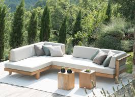 Modern Corner Sofa Uk by Tribu Pure Corner Garden Sofa Tribu Furniture At Go Modern