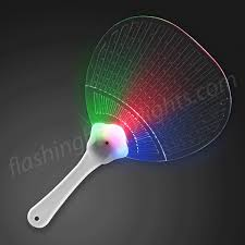 light up fancy fan with led lights by flashingblinklights