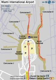 miami airport terminal map miami international airport travel guide at wikivoyage