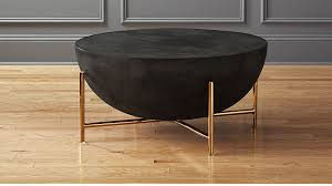 Brass Coffee Table Darbuka Brass Coffee Table In Coffee Tables Reviews Cb2