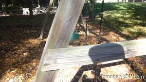 Backyard Swing Plans by How To Build Backyard Swing Set Easy U0026 Low Cost Youtube