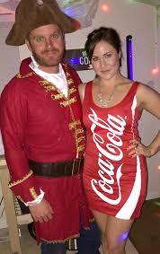 Coca Cola Halloween Costume Dress Captain Coke Homemade Halloween Couples Costumes Popsugar