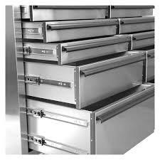 Metal Drawer Cabinets Oemtools 24614 46 Inch 10 Drawer Cabinet Stainless Steel