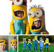 Minion Costumes Halloween Easy Frugal Minute Halloween Costumes Kids