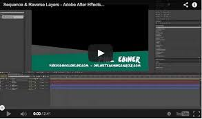 tutorial after effect membuat opening film quick easy after effects reverse your motion graphic