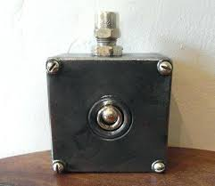 vintage industrial light switch retro light switches 1 gang black crystal glass touch sensitive